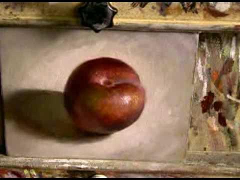 Plum - Daily painting by dutch artist Jos van Riswick