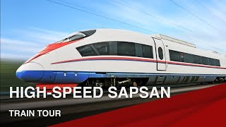 Exclusive Tour of the High-Speed Sapsan Train