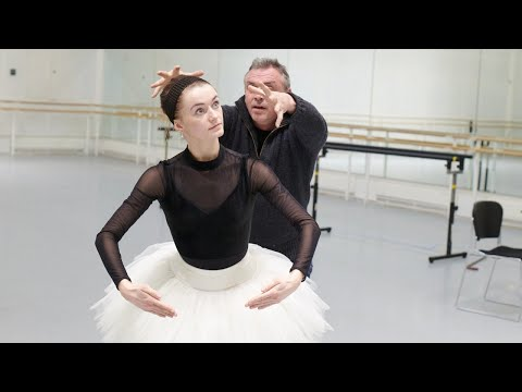 The Royal Ballet rehearse Coppélia