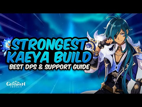 COMPLETE KAEYA GUIDE (DPS & SUPPORT)  – Best Artifacts, Weapons, Teams & Showcase   Genshin Impact