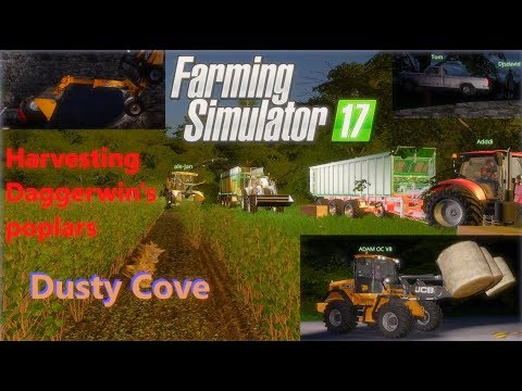 Farming Simulator 17   Dusty Cove   Multiplayer: Official Daggerwin Game Server