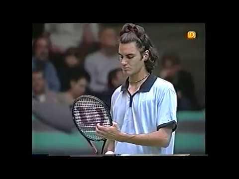 Davis Cup 2000 R1 - Hewitt vs Federer