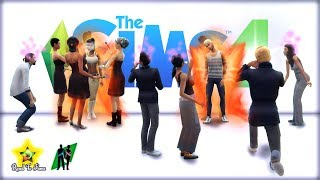 The Sims 4 Modeling Skill/Chill Stream
