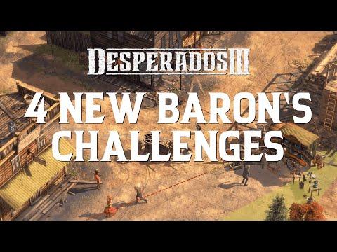 Desperados III - Free Baron's Challenges Update #1