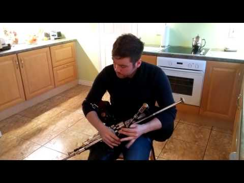 Lark in the Morning (Jig) Uilleann pipes Chris McMullan