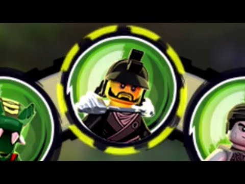Lego Ninjago: Shadow of Ronin (PS Vita/3DS/Mobile) Karlof/Shade Gameplay