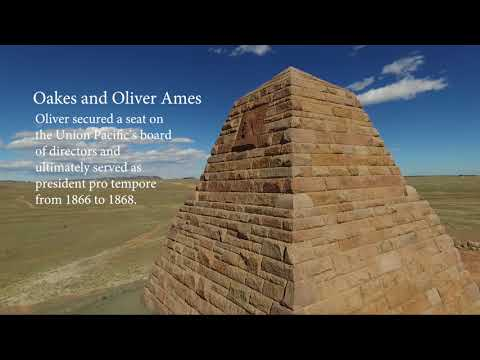 Ames Monument - Wyoming Virtual Field Trips for K-12 (demo)
