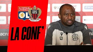 VIDEO: Patrick Vieira et Stanley Nsoki en conf' avant Lyon - Nice