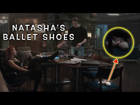 Black Widow's ballet shoes   Avengers Endgame Detail