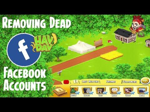 Hay Day - Removing Dead Facebook Accounts