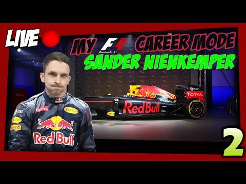 F1 2016 Sander Nienkemper Minicareer #2 (LIVE)