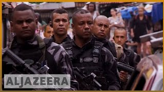 🇧🇷Brazil crackdown military intervention ends Monday | Al Jazeera English