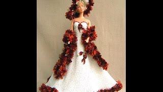 Вязание крючком! Оригинальная одежда для кукол своими руками
