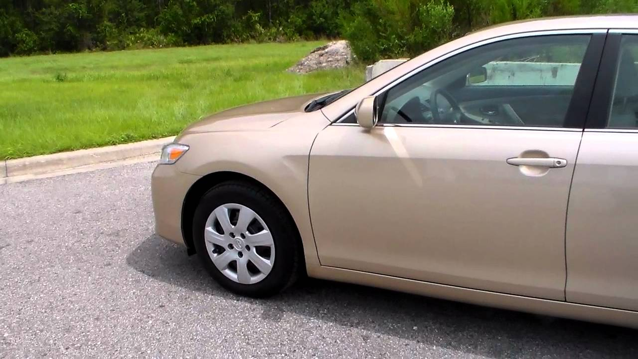 2010 Toyota Camry Le Gold Youtube