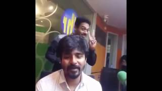 sivakarthikeyan live chat with fans funny moments