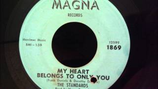 Standards - My Heart Belongs To Only You - Beautiful NY Doo Wop Ballad