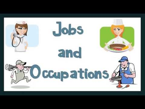 Talking about Jobs and Occupations: English Language