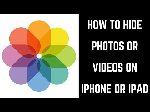 How to make photo album private on ipad