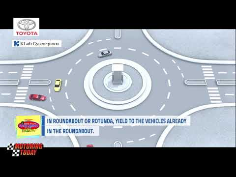 In Roundabout or Rotunda, Yield to the Vehicles Already in the Raoundabout   YSS Road Safety Tips