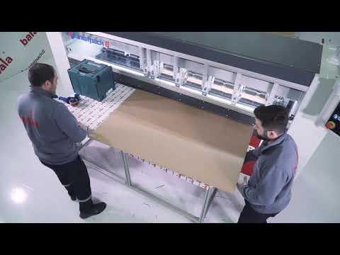 Рилевочно-резательный станок для производства картонных коробок Bala Makina. IntelPack 6 (Часть 2)