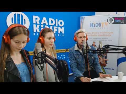 Гость RADIO KIDSFM RIGA - Markus Riva /20.02.2017/