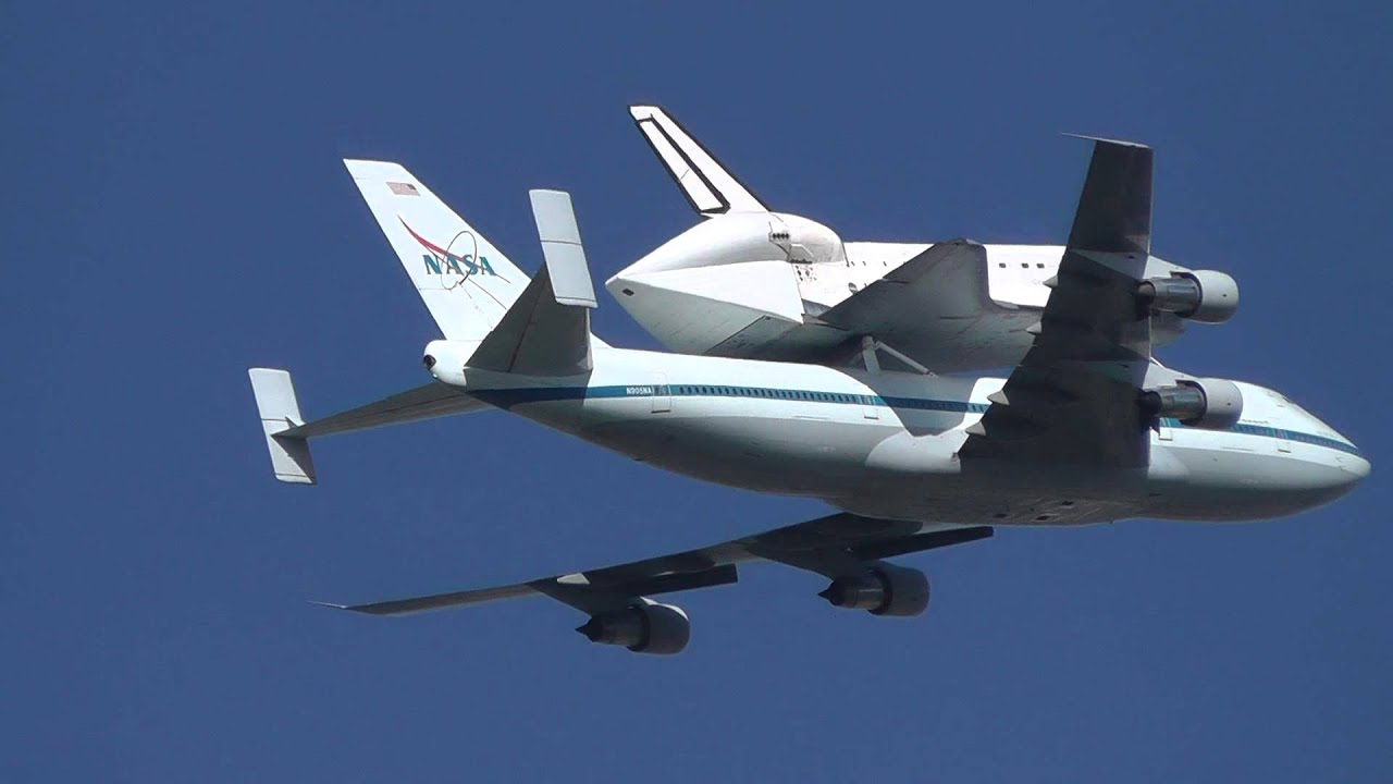 Space Shuttle To Terrify Washington DC With Low Flyover ... |Space Shuttle Flyover