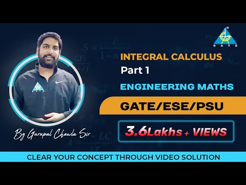 Integral Calculus(Part-1) | Engineering Mathematics