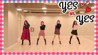 "TWICE(트와이스) ""YES or YES"" Dance Cover 커버댄스 + 비하인드 스토리😂ㅋㅋㅋㅋ"