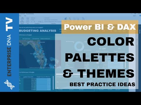 Creating Great Color Palettes for Power BI - Data Visualization Tips
