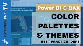 خلق عظيم لوحات الألوان على السلطة BI - التصور البيانات نصائح