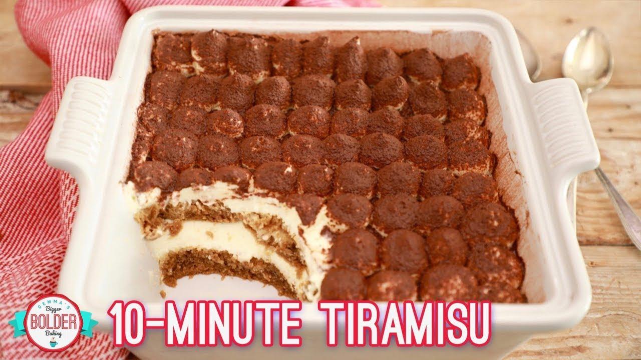 Easy 10 Minute Tiramisu Recipe Gemma S Bigger Bolder Baking