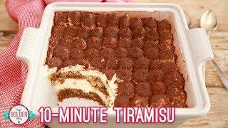 Easy 10 Minute Tiramisu  Bigger Bolder Baking