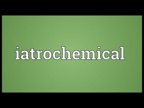Header of iatrochemical
