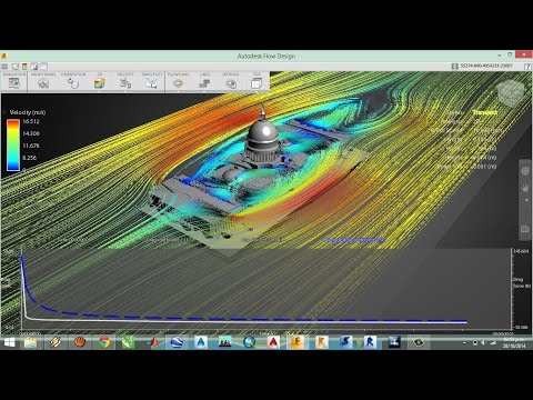 Autodesk Flow Design How To Use Flow Lines Doovi