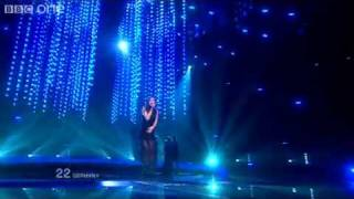 Germany 'Satellite'. Lena - Winner of Eurovision Song Contest Final 2010 - BBC One.mp4