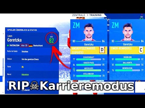 ZERSTÖRT EA DEN KARRIEREMODUS JETZT KOMPLETT ?!! ☠️😡 Schlimmster FIFA 19 Fehler wegen neuem Update
