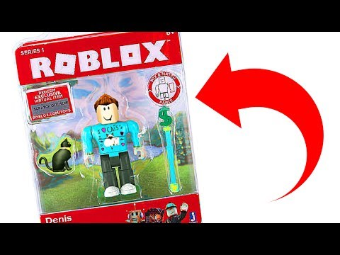 DENIS BECOMES A ROBLOX TOY!