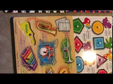 Musical Instrument Puzzle