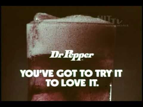 1970's Dr Pepper Commercial Burt Young