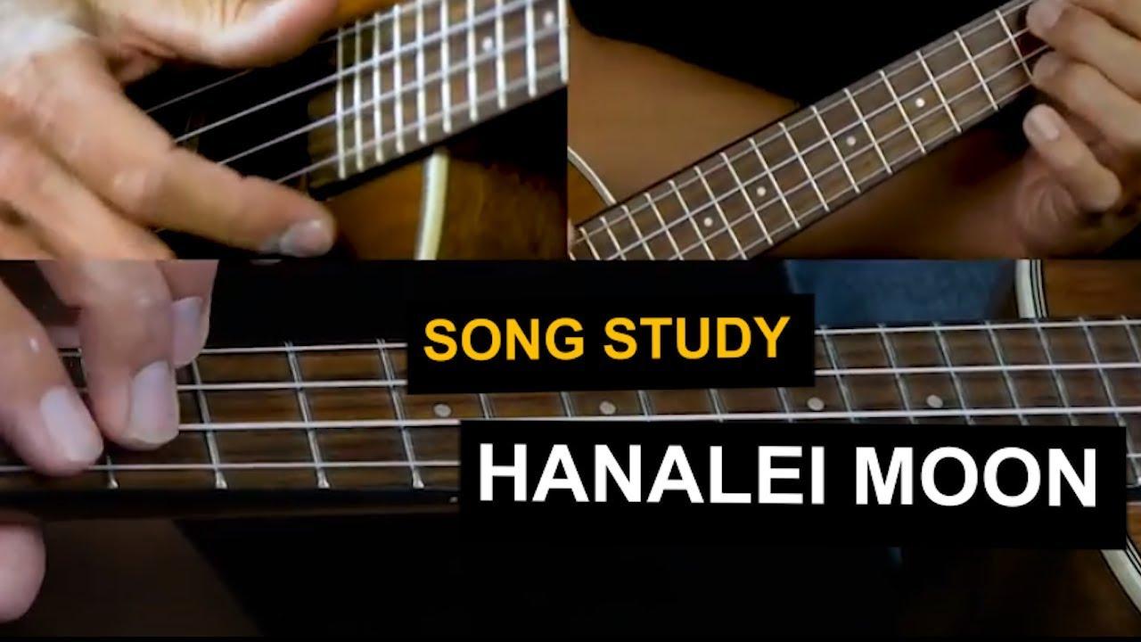 How to play Hanalei Moon on ukulele - Hawaiian ukulele ...