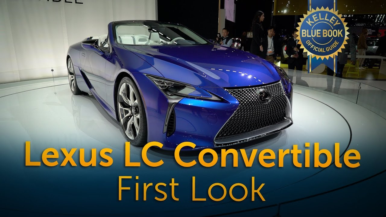 2021 Lexus LC 500 Convertible - First Look - YouTube