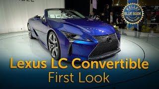 2021 Lexus LC 500 Convertible - First Look