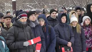 Собрание в поддержку Навального в Красноярске
