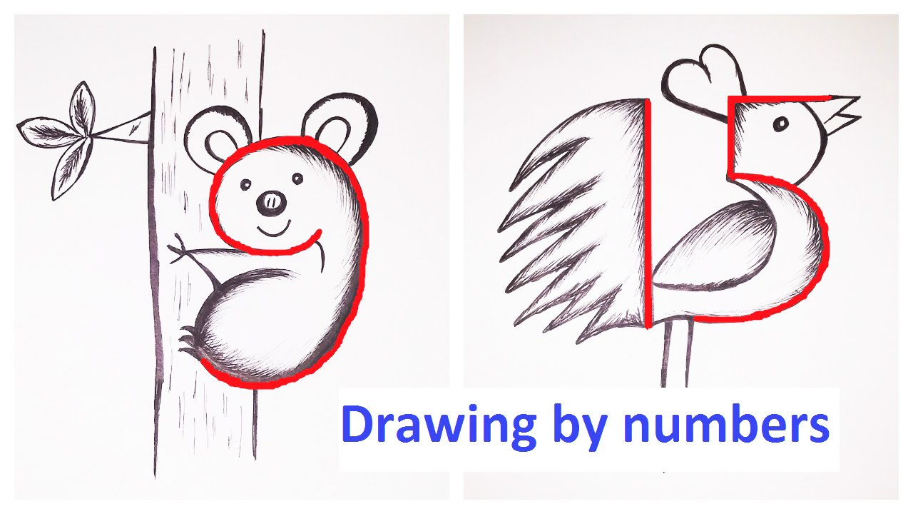 Drawing By Numbers Youtube