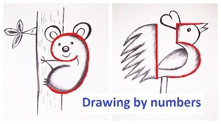 Drawing by numbers
