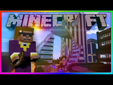 Minecraft - WE HAVE FREAKING CAPES YESSSS! (Crewcraft Decorating Stark Tower!)