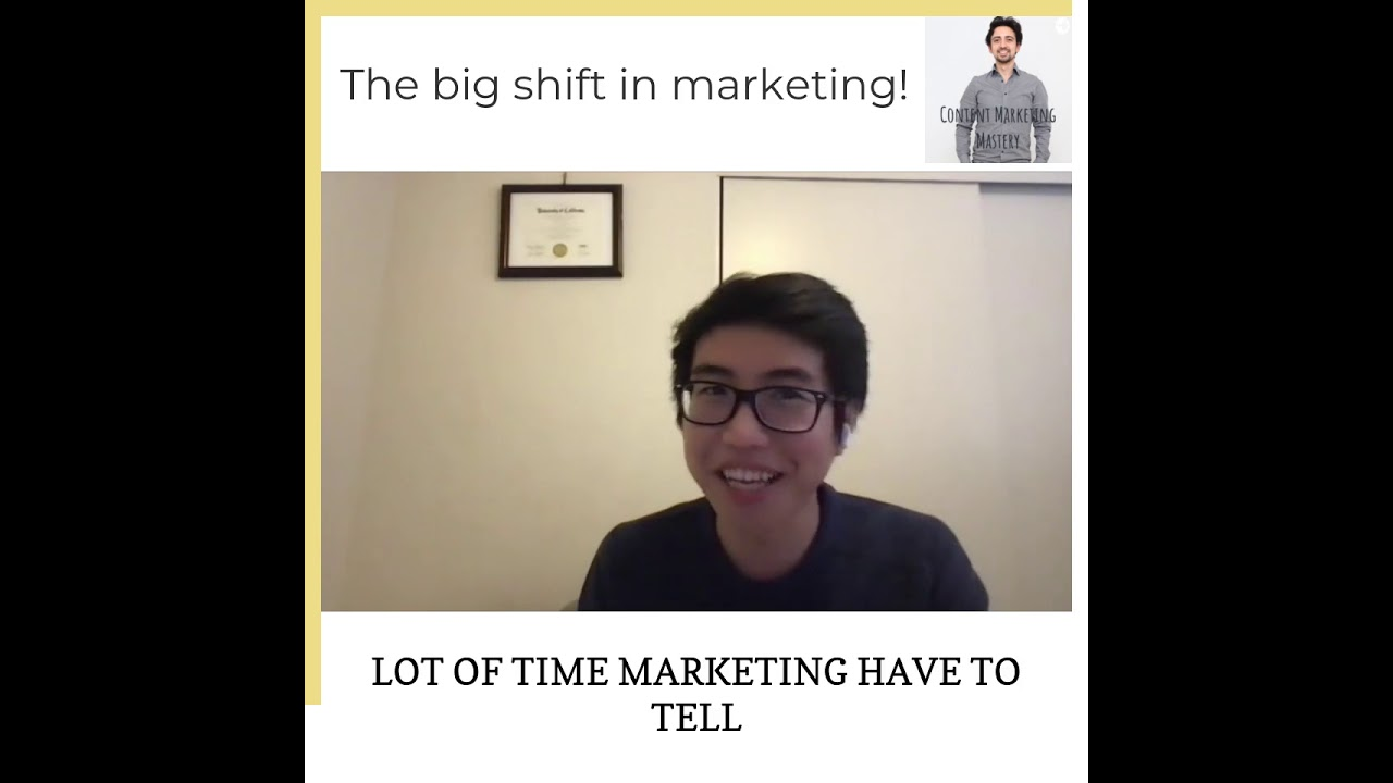 The big shift in marketing
