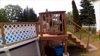 Video Home made Pool Fence 27 foot above ground download MP3, 3GP, MP4, WEBM, AVI, FLV Agustus 2018