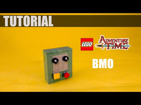 Lego BMO Adventure Time Tutorial |4K
