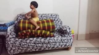 Funny Kids Playtime at Home - Funny Baby Video - Try Not To Laugh!